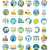 set of busines icons stock photo © robuart