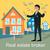 agent · immobilier · clé · Homme · homme · touches - photo stock © robuart