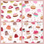 seamless patterns set with cakes confectionery stock photo © robuart