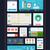 ベクトル · セット · インターフェース · 要素 · ui · キット - ストックフォト © robuart