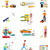 icons set of tools series stock photo © robuart