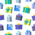 seamless pattern gift boxes stock photo © robuart