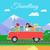 микроавтобус · коммерческих · автомобиль · серебро · белый · семьи - Сток-фото © robuart