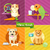kaméleon · papagáj · macska · kutya · ikon · gyűjtemény · otthon - stock fotó © robuart