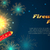 kártya · sablon · tűzijáték · buli · agancs · illusztráció - stock fotó © robuart
