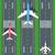 repülőgépek · vektor · illusztrációk · háború · utazás · repülőtér - stock fotó © robuart
