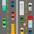 denso · traffico · vettore · diagramma · strada - foto d'archivio © robuart