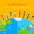 symbool · bezorgdheid · wereld · handen · mensen · rond - stockfoto © robuart