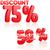 yüzde · sayılar · kırmızı · beyaz · örnek · arka · plan - stok fotoğraf © robuart