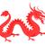 красный · дракон · иллюстрация · красивой · подробный · Cartoon - Сток-фото © robuart