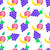colorful fruits cartoon vector seamless pattern stock photo © robuart