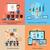 онлайн · бизнеса · подготовки · стиль · баннер · дизайна - Сток-фото © robuart