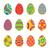 chocolade · paaseieren · teken · Easter · Bunny · wijzend - stockfoto © robuart