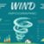 wind infographics tornado and hurricanes banners stock photo © robuart