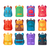 colorful backpacks flat vectors collection stock photo © robuart