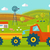 eco farm conceptual vector in flat style design stock photo © robuart