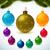 dourado · realista · vetor · natal · amarelo - foto stock © robuart