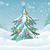 christmas · nieuwjaar · kaart · speelgoed · stad · vrolijk - stockfoto © robuart