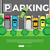 parcheggio · top · view · città · vettore · web - foto d'archivio © robuart