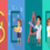 research science banner human characters in gowns stock photo © robuart