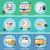conjunto · compras · ícones · dinheiro · projeto · assinar - foto stock © robuart