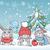 cute · coniglio · sciarpa · inverno · moda · sfondo - foto d'archivio © robuart