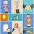 conjunto · negócio · mãos · ação · conceitos · ecommerce - foto stock © robuart