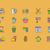 приготовления · оборудование · инструменты · иконки · вектора - Сток-фото © robuart