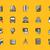 スクールバス · 黒 · アイコン · シルエット · 白 · 車両 - ストックフォト © robuart