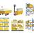 desenho · animado · fábrica · fumar · indústria · arquitetura · poluição - foto stock © robuart