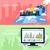 estratégico · gestão · ícone · algoritmo · verde · planejamento - foto stock © robuart