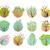 set of tree round icons stock photo © robuart