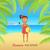 idyllique · plage · mer · été · bleu · sable - photo stock © robuart