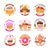 кондитерские · изделия · логотип · иллюстрация · знак · дизайна · хлеб - Сток-фото © robuart