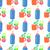 baby food cartoon vector seamless pattern stock photo © robuart