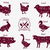 çiftlik · hayvanları · tavuk · inek · ördek · domuz - stok fotoğraf © robuart