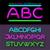 neon · ábécé · betűtípus · stílus · terv · levelek - stock fotó © robuart