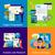 ビジネス · アイデア · プロセス · セット · ベクトル · ビジネスマン - ストックフォト © robuart