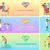 gry · dzieci · sylwetka · grupy · szczęśliwy · gry · dla · dzieci - zdjęcia stock © robuart