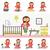 материнство · иллюстрация · дизайна · семьи · вектора · детей - Сток-фото © robuart