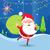 サンタクロース · ギフト · 現在 · 孤立した · レトロな · クリスマス - ストックフォト © robuart