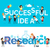 successful idea research vector banner flat design stock photo © robuart
