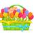 feestelijk · kaart · roze · tulpen · voorjaar · ontwerp - stockfoto © robuart
