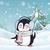 Cute · пингвин · набор · изолированный · белый · Cartoon - Сток-фото © robuart