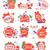 nagy · karácsony · ünnep · vásár · tél · szett - stock fotó © robuart