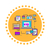 proteger · pagamento · etiqueta · ícone · internet · verde - foto stock © robuart