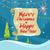 vrolijk · christmas · poster · iconen · sneeuwvlokken - stockfoto © robuart