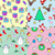 seamless patterns set in flat style xmas elements stock photo © robuart
