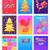 с · Новым · годом · праздник · плакат · петух · вектора · современных - Сток-фото © robuart