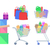 set of shopping vector icons in flat style stock photo © robuart